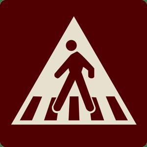 Crosswalk icon